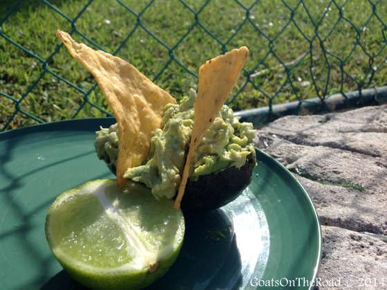 guacamole in mexico