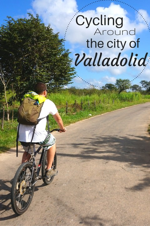 Cycling Around the City of Valladolid