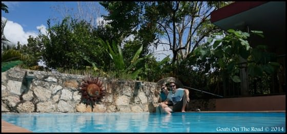 Casa Hamaca Pool Area