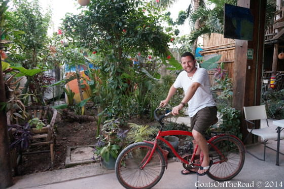 bike riding in tulum
