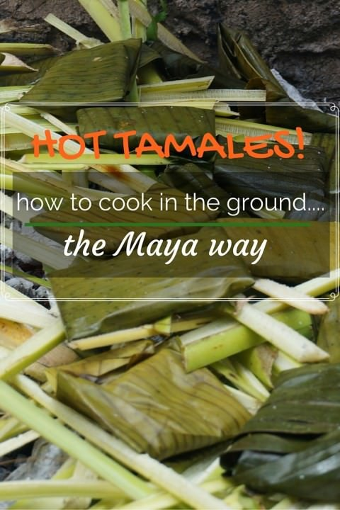 Hot Tamales! Learning to Cook in the Ground…The Maya Way