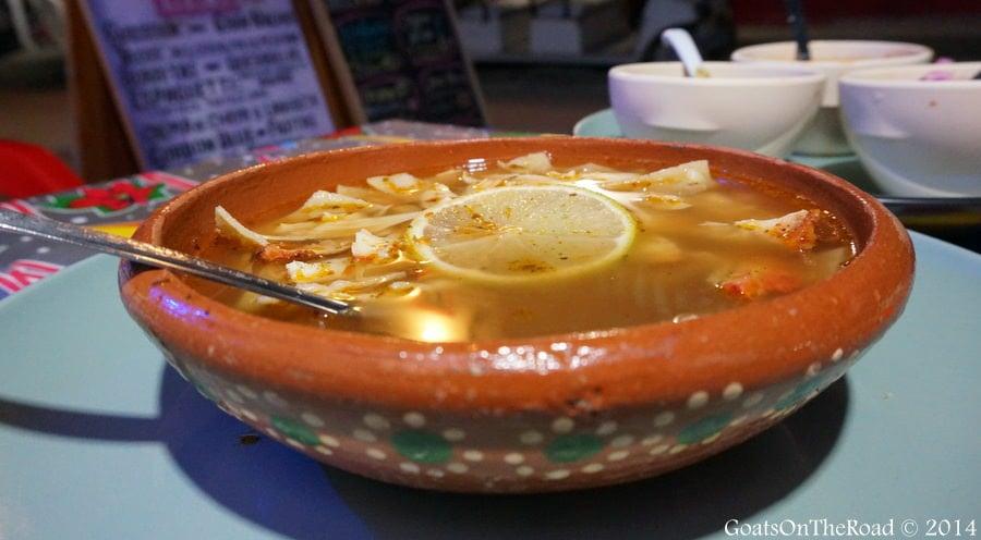 sopa de lima yucatan soup