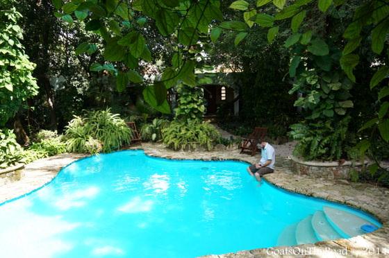 casa quetzal pool