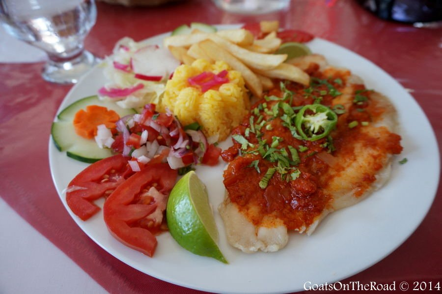 grilled fish mexican style