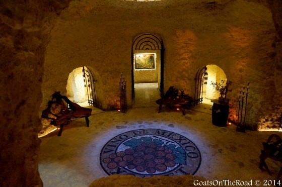wine cellar xcaret