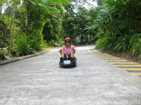 luge sentosa island singapore