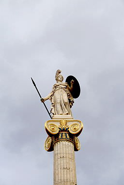 0755_-_Athens_-_Akadimia_-_Athena_column_-_Photo_by_Giovanni_Dall'Orto,_Nov_11_2009
