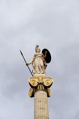 0755_-_Athens_-_Akadimia_-_Athena_column_-_Photo_by_Giovanni_Dall'Orto,_Nov_11_2009