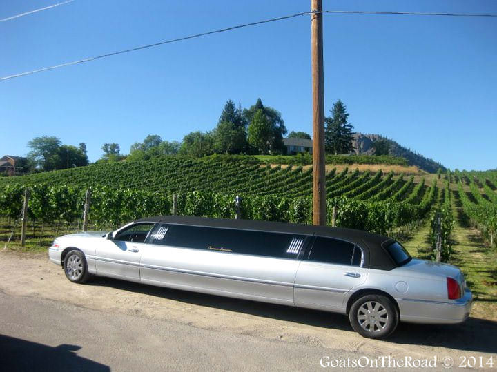 winery tour in british columbia