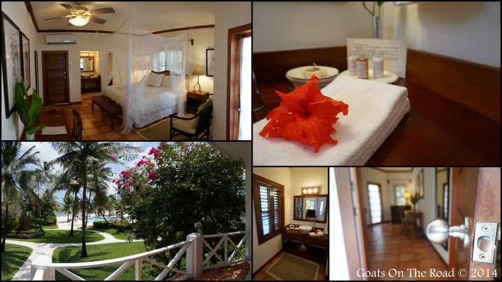 Our Plantation Room. Victoria House Belize