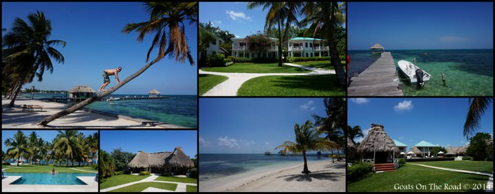 The Beautiful Grounds At Victoria House, Belize