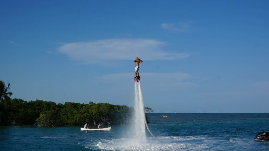 Flyboarding In Caye Caulker Belize