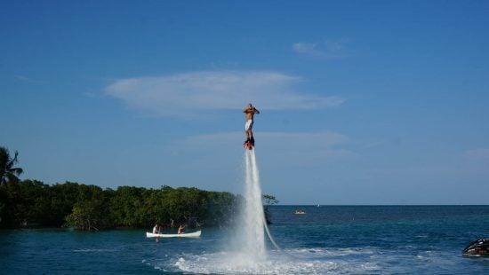 Flyboarding In Caye Caulker Belize
