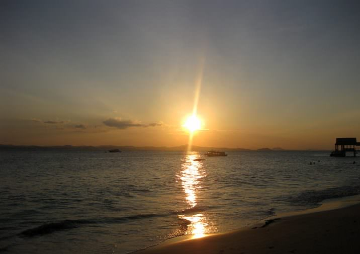 off the beaten path in southeast asia sunset kapas island malaysia