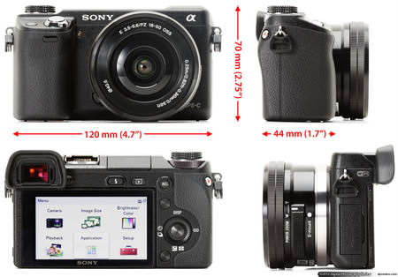 sony nex 6 for travellers