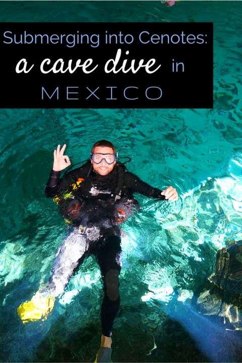 Submerging Into Cenotes- A Cave Dive In Mexico