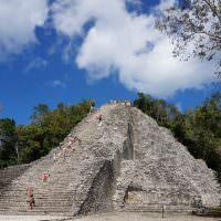 climbing ruins and shaman ceremonies