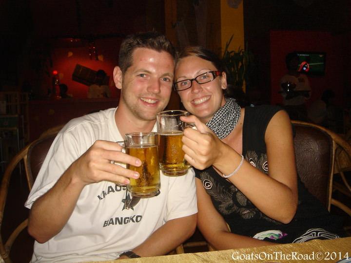 Way back wednesday beers in Siem Reap