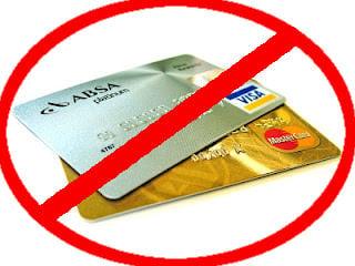 No Visa No Mastercard