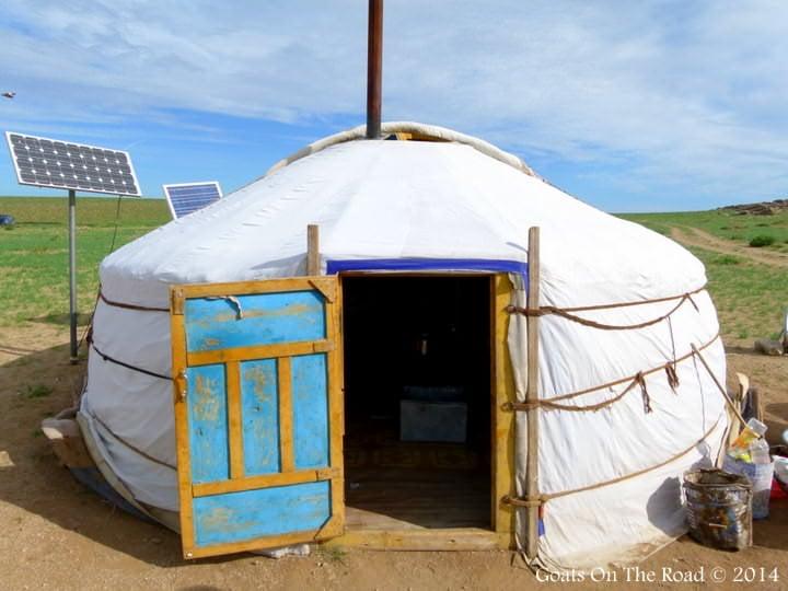 Backpacking Mongolia A Mongolian Ger