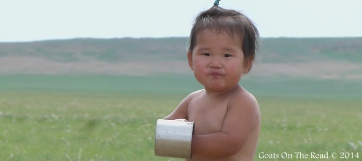 Even The Kids Drink Arag! traveling mongolia