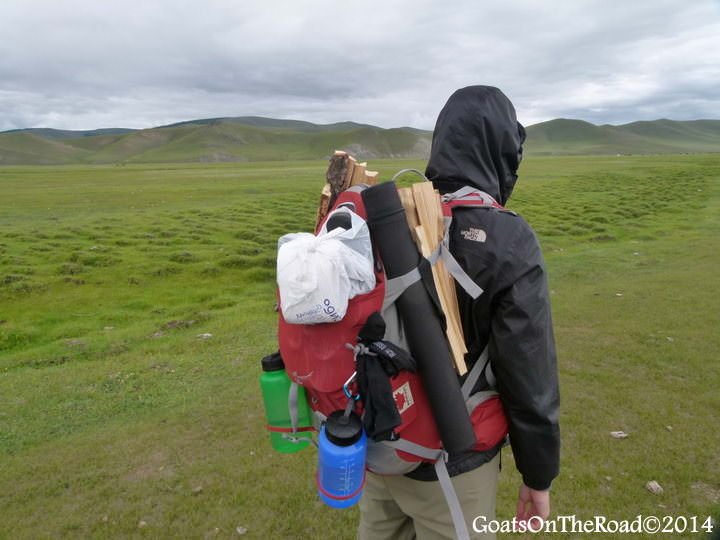 backpack for trekking mongolia