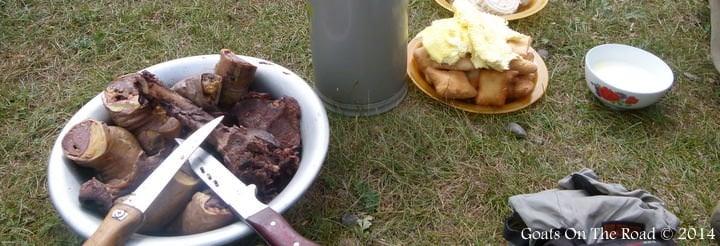 Random Bucket Of Meat Aynyone? Mongolian delicacy.