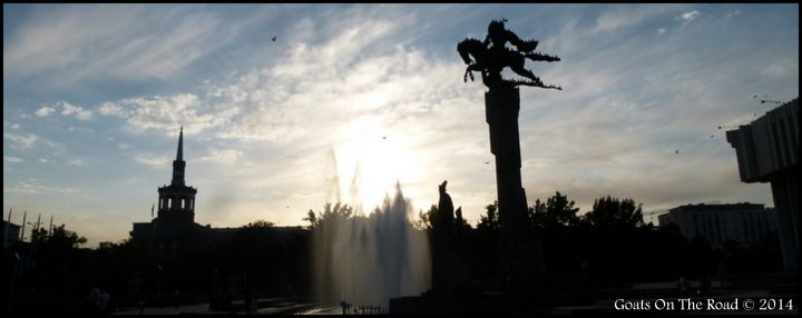 Backpacking Kyrgyzstan Bishkek - The Kyrgyz Capital