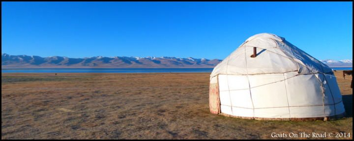 Backpacking Kyrgyzstan - A Traditional Kyrgyz Yurt