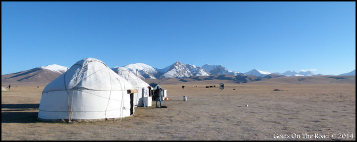 Backpacking and Staying In Yurts In Kyrgyzstan