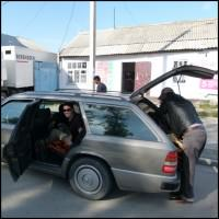 Shared Taxis Backpacking Kyrgyzstan
