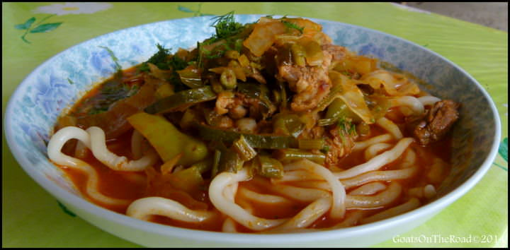 lagman soup kyrgyzstan