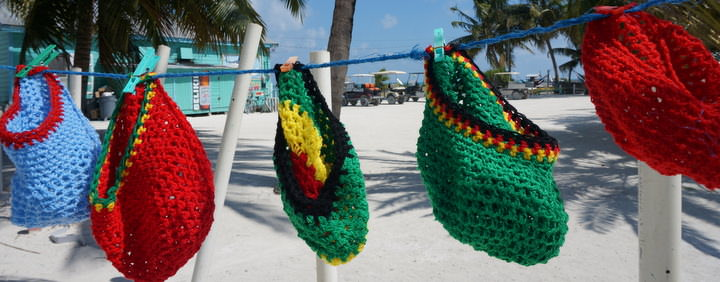 Rasta Hats Blowing In The Wind
