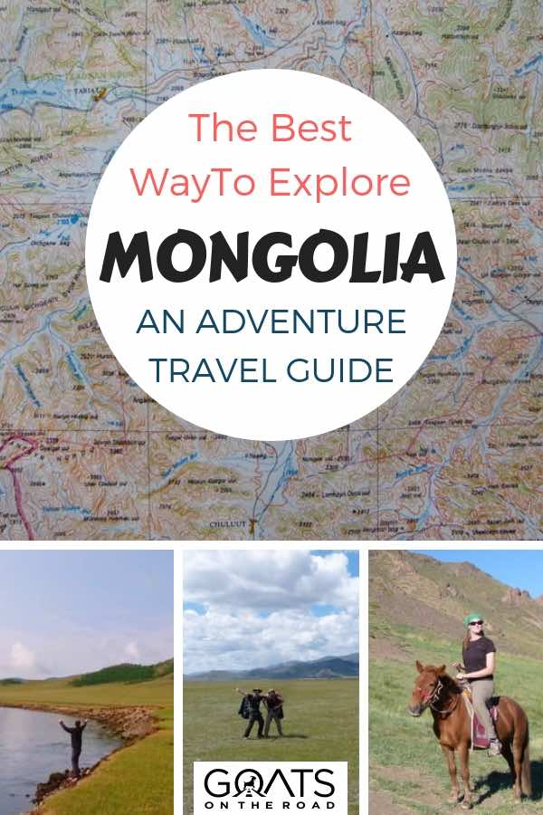 Travel planning with text overlay The Best Way To Explore Mongolia