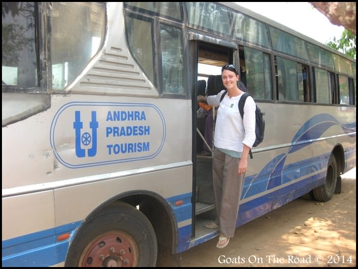 A Local Bus In India