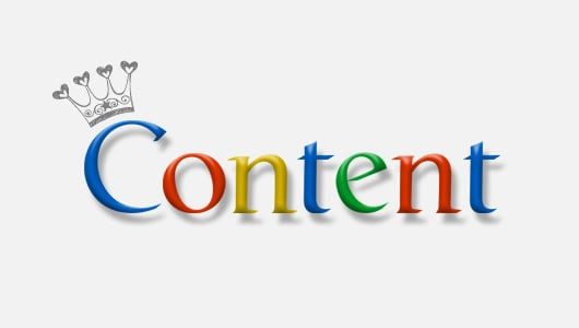blog traffic content is king