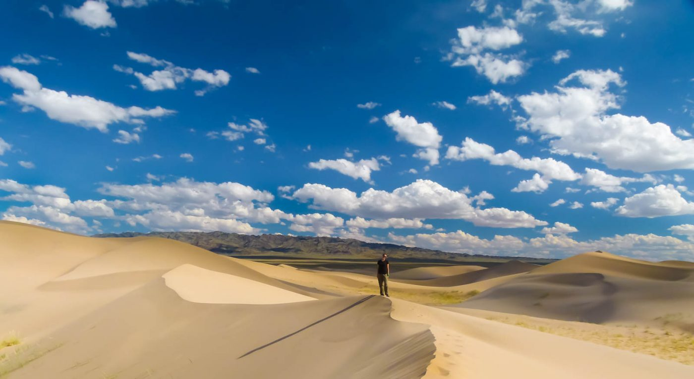 backpacking in mongolia