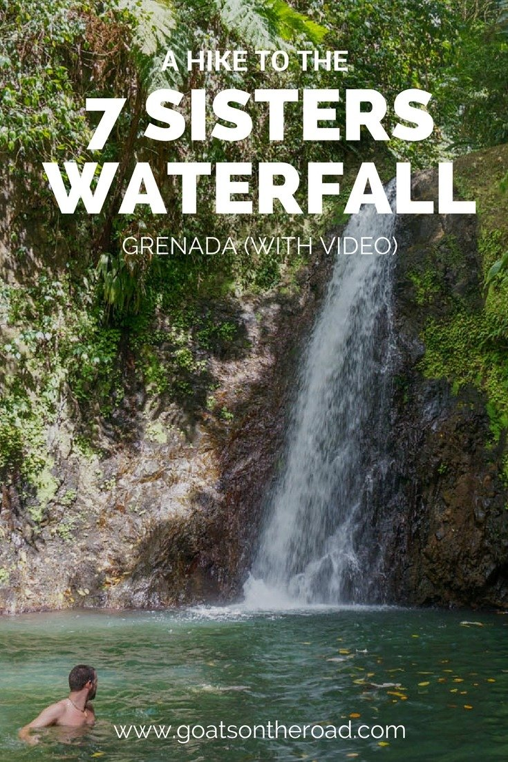 A Hike To The 7 Sisters Waterfall In Grenada (With Video)