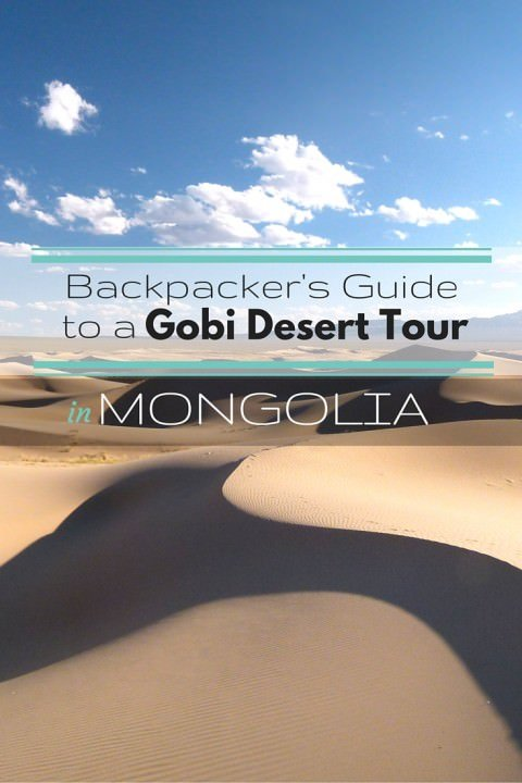 Backpacker's Guide to a Gobi Desert Tour in Mongolia