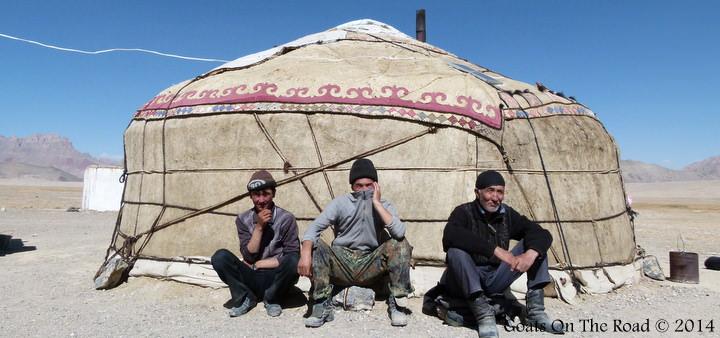 Backpacking Tajikistan - A Yurt