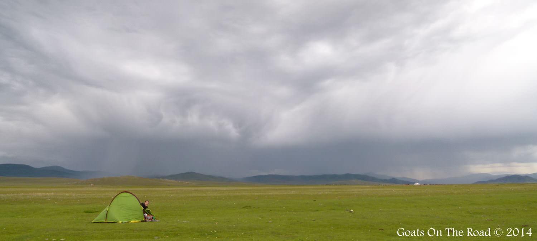Trekking Mongolia Campsite