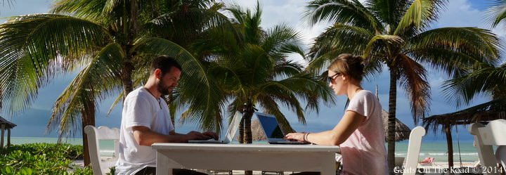 Blogging On Holbox Wide