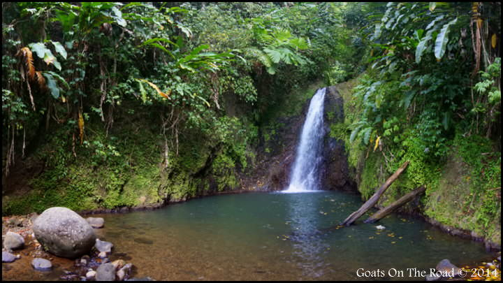 Seven Sisters Waterfall - Grand Etang National Park, Grenada