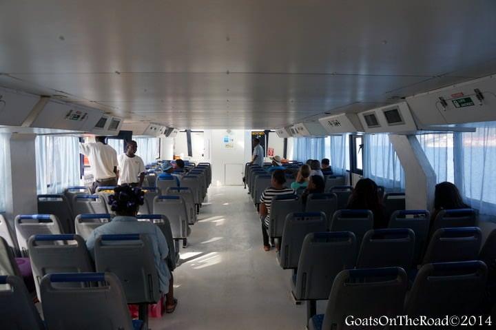 Inside The Osprey Ferry