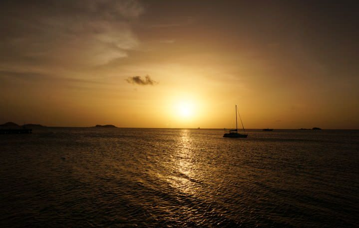 sunset carriacou
