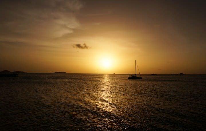 sunset carriacou