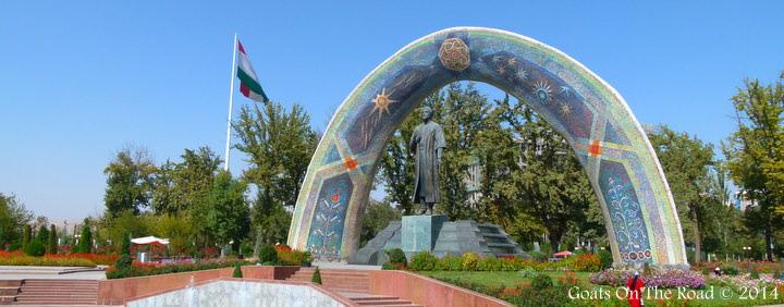 Backpacking Tajikistan In Dushanbe