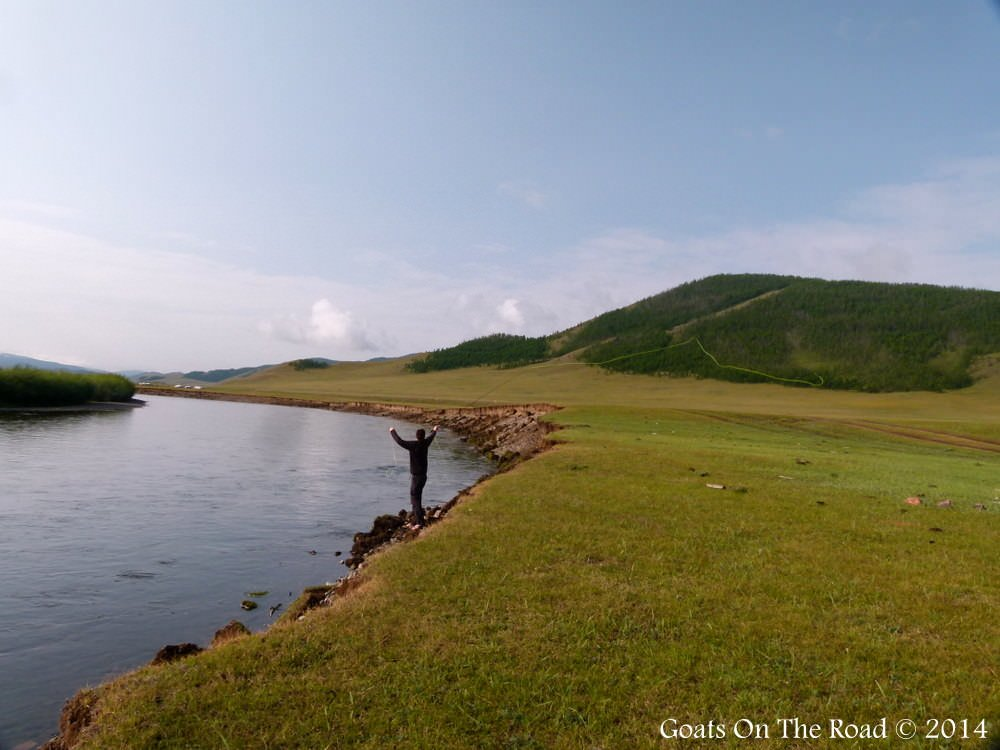 Fly Fishing On The Mongolia Steppe