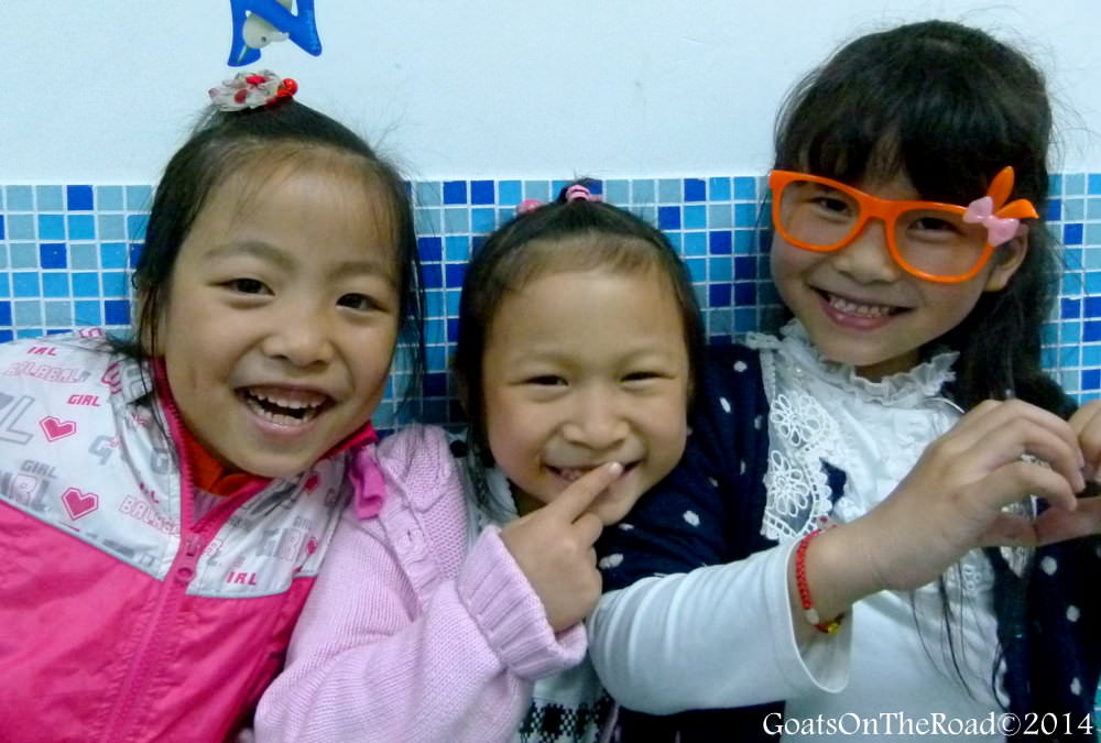 kids in china
