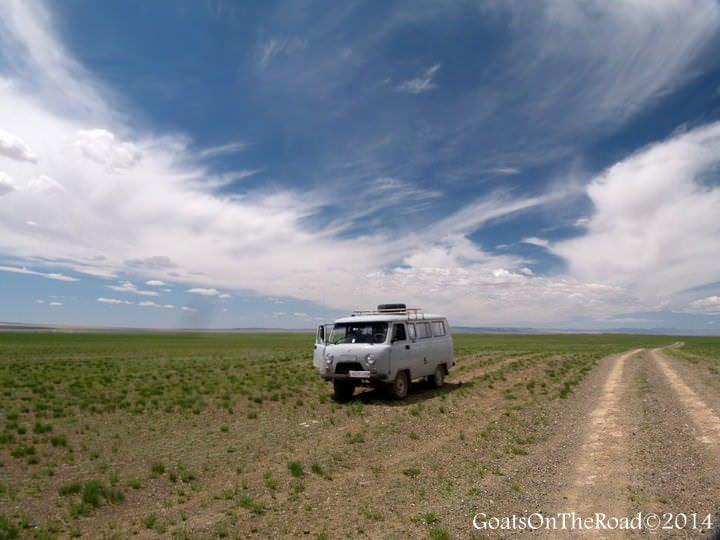 visiting the mongolian desert on a gobi desert tour